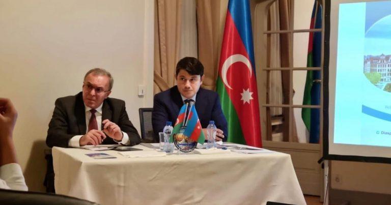 Belçikada yaşayan azərbaycanlılarla görüş keçirilib