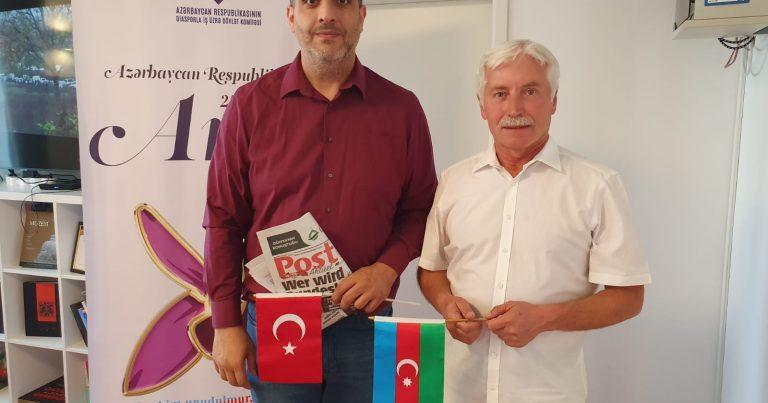 Münhendəki Azərbaycan Evində şəhidlərimiz yad edilib