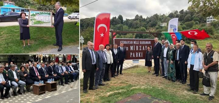 Bursa şəhərində Milli Qəhrəman Şirin Mirzəyevin adına park açılıb