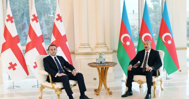 """""""Regionda sülh və sabitliyin olmasında maraqlıyıq"""" – Qaribaşvili"""