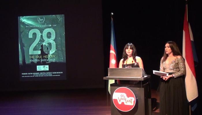 """""""28"""" filminin təqdimatı keçirilib – VİDEO"""