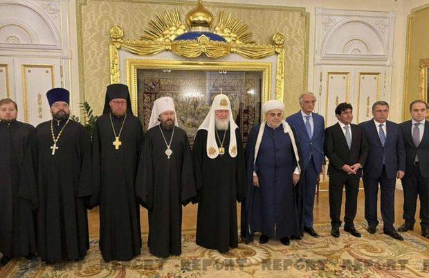 Azərbaycan və Rusiyanın dini liderləri arasında görüş keçirilib- YENİLƏNİB + FOTO