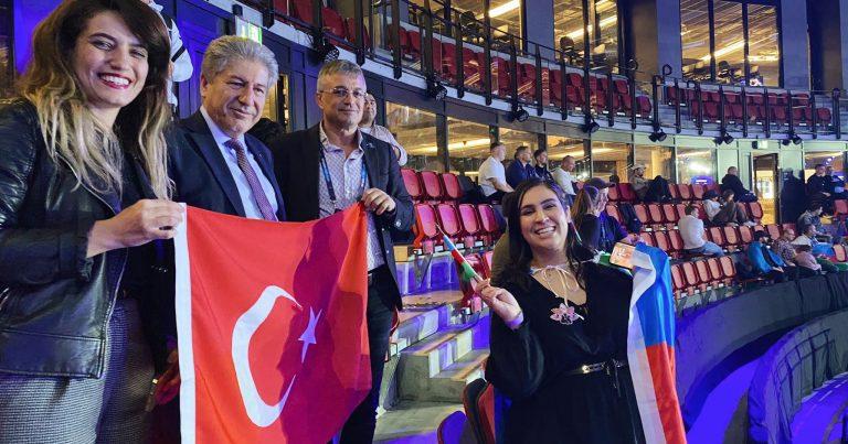 Diaspor fəallarımızdan güləşçilərimizə DƏSTƏK